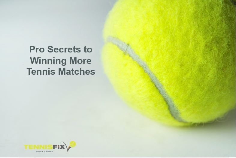 Tennis ball representing Pro Secrets to Winning More Matches - Tennis Fix System - Patrick Giammarco