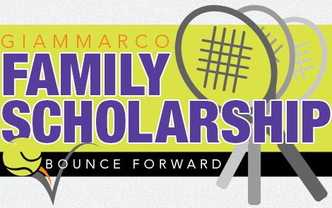 Giammarco Family Bounce Forward Tennis Scholarship