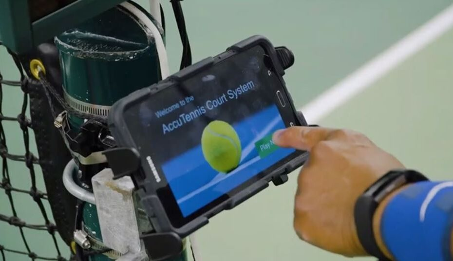 AccuTennis Smart Court technology
